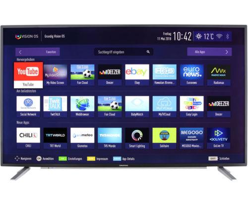 Grundig 65 VLX 7730 BP 4K/UHD LED Fernseher 164 cm [65 Zoll] Schwarz