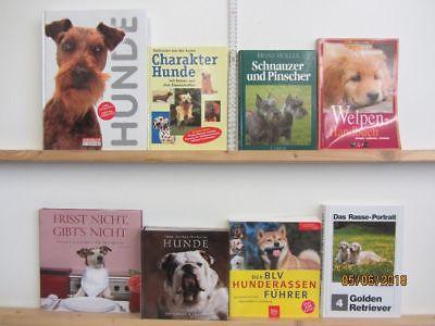 48 Bücher Hunde Hundrassen Hundepflege Hundeerziehung Hundegeschichten