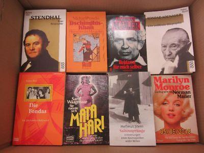 79 Bücher Biografie Biographie Lebenserinnerungen Autobiografie Lebensgeschichte