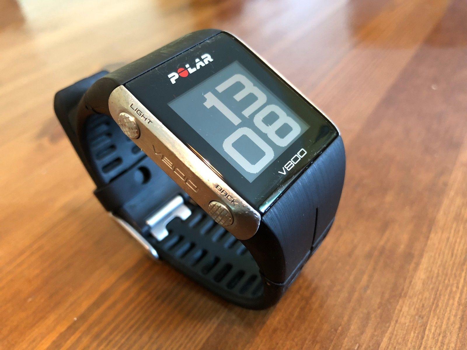 Polar V800 OVP + H7 BT HR Sensor + 3x Brustgurt