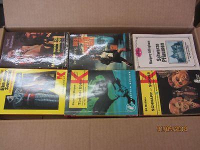 108 ältere Kriminalromane Krimi Detektivromane Spionageromane Thriller
