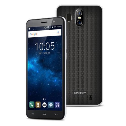 HOMTOM S16 Fingerprint 5,5'' Android 7 Smartphone 2GB+16GB Handy 18:9 All-Screen