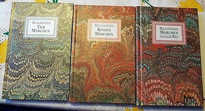 Märchen - Schmuckeinaband - 3 Bücher - Buchpaket Bücherpaket Buchsammlung