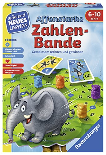 Ravensburger 24973 Affenstarke Zahlen-Bande Lernspiel