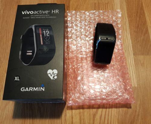 Garmin Vivoactive HR GPS - schwarz - Pulsmessung am Handgelenk