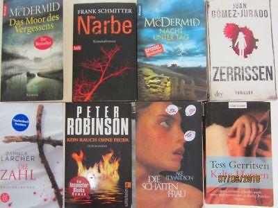 59 Bücher Romane Krimi Thriller Psychothriller  Top Titel Bestseller Paket 1