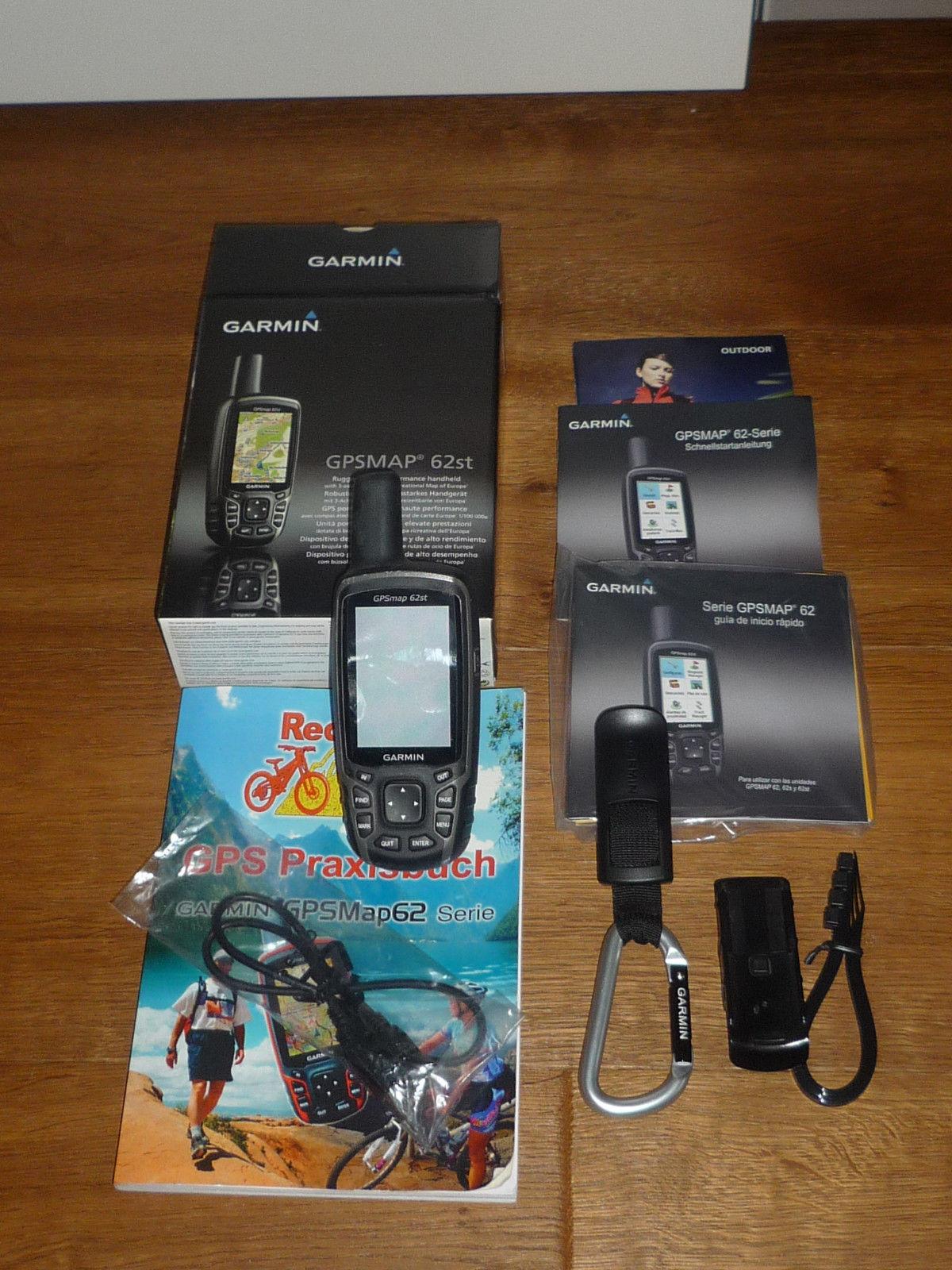 Garmin Outdoor GPS GPSMAP 62st, schwarz in OVP