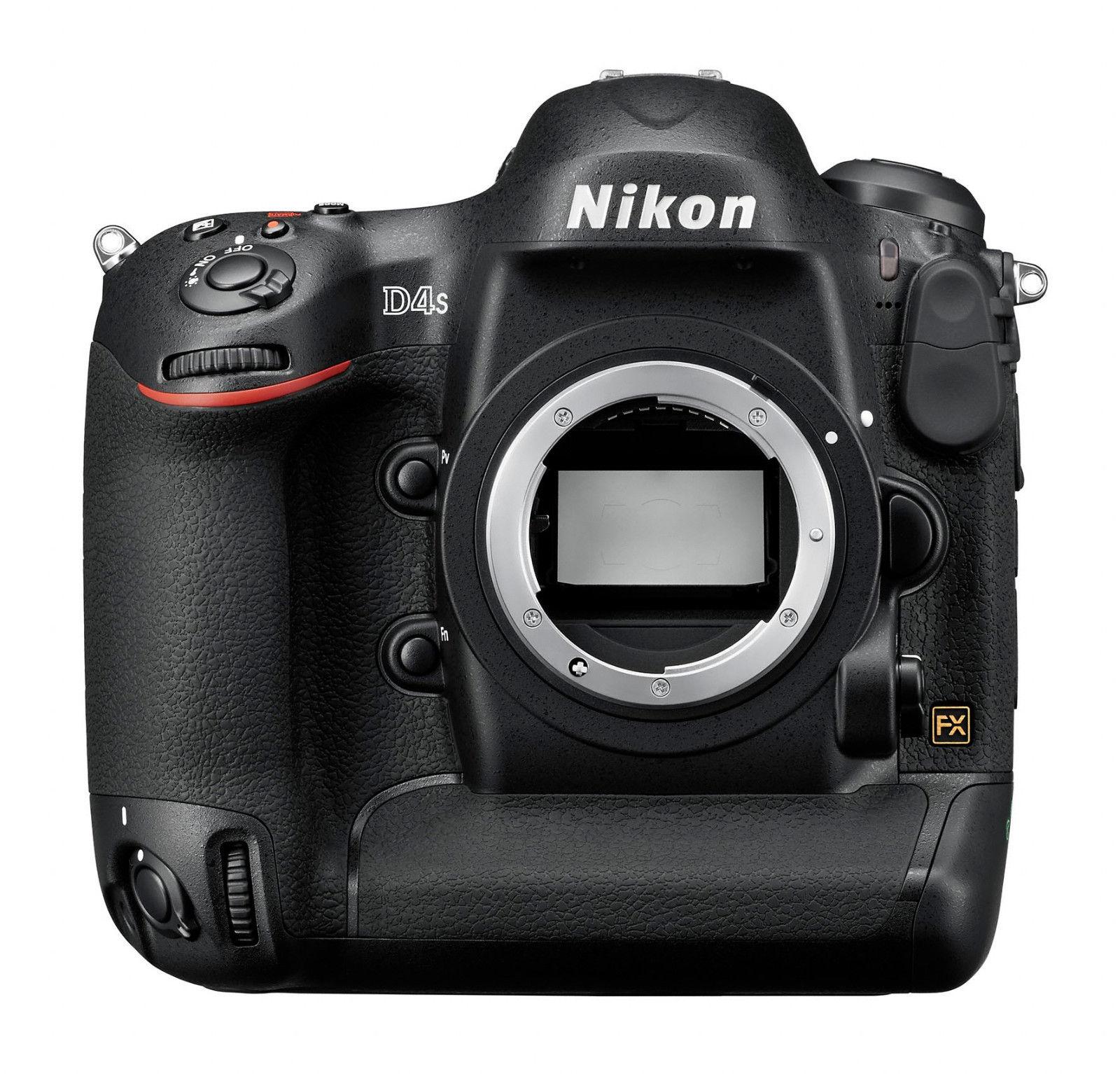 Spiegelreflexkamera Nikon D4s (16.2 MP) DSLR, GEHÄUSE, GEBRAUCHTWARE