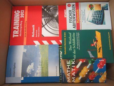 48 Bücher Mathematik Mathe Rechnen Schulbücher Fachbücher