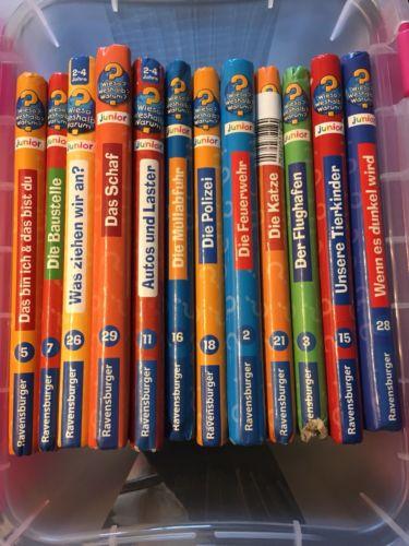 12 Wieso? Weshalb? Warum? Junior - Bücher