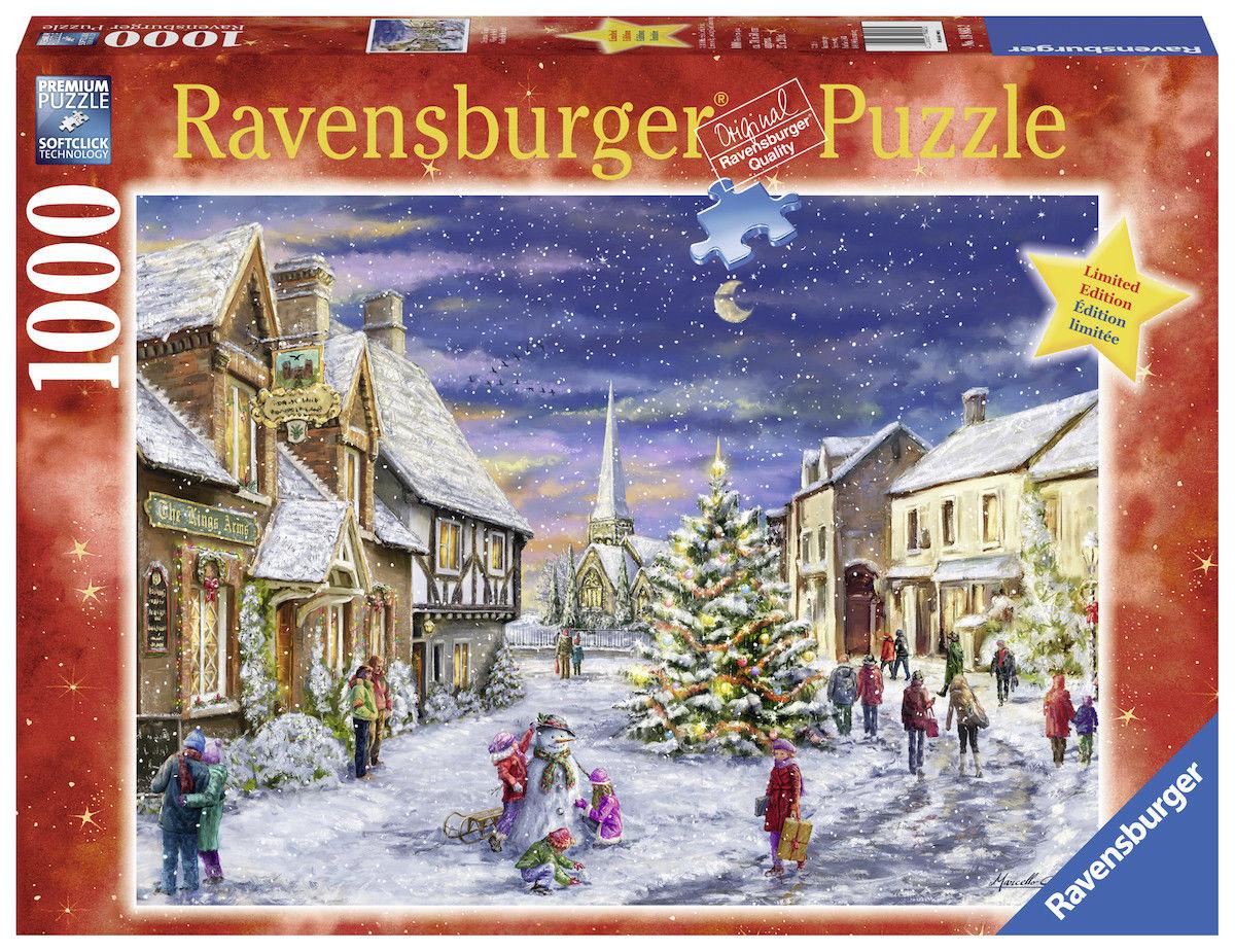RAVENSBURGER PUZZLE*1000 TEILE*CHRISTMAS VILLAGE*WEIHNACHTEN*RARITÄT*OVP