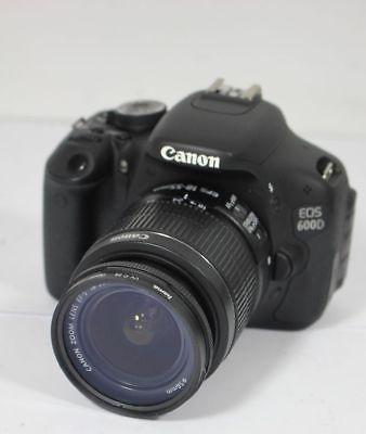 Canon EOS 600D SLR Spiegelreflex Digitalcamera 18 MP