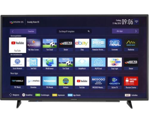 Grundig 55 VLX 7810 BP 4K/UHD LED Fernseher 139 cm [55 Zoll] Schwarz