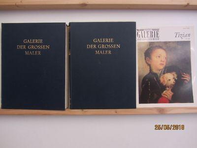 Bastei Galerie der grossen Maler 20 Bücher Bildbände Malerei Gemälde