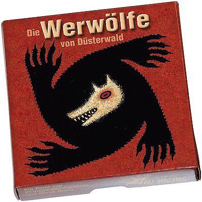 Die Werwölfe Von Düsterwald Kartenspiel Spiel Bretspiel Kinder Kombinieren Wolf