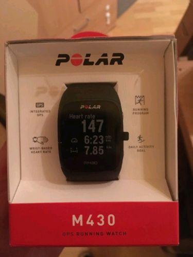 Polar  M 430  GPS Uhr - Laufuhr - mit vielen extras