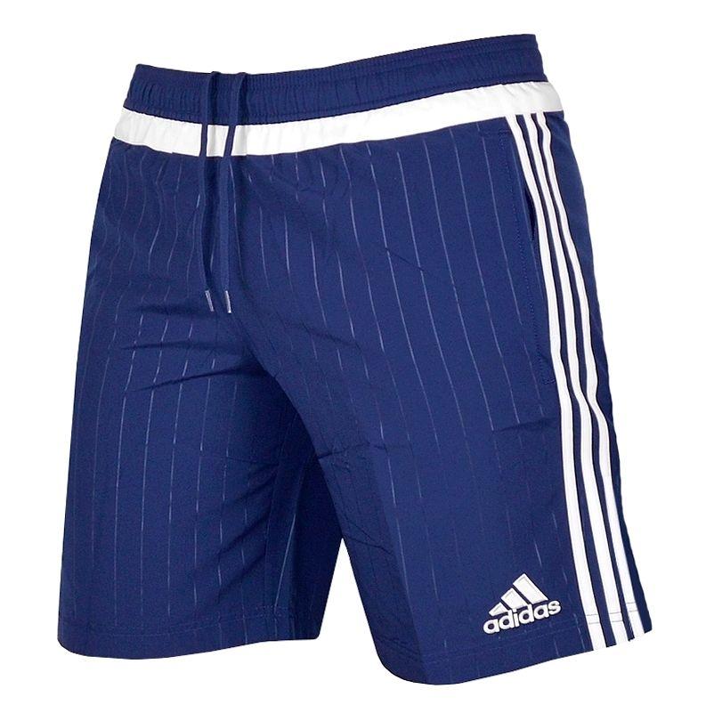 Adidas Herren Shorts Freizeit Sport Hose Laufhose Fußball Trainingshose Men blau