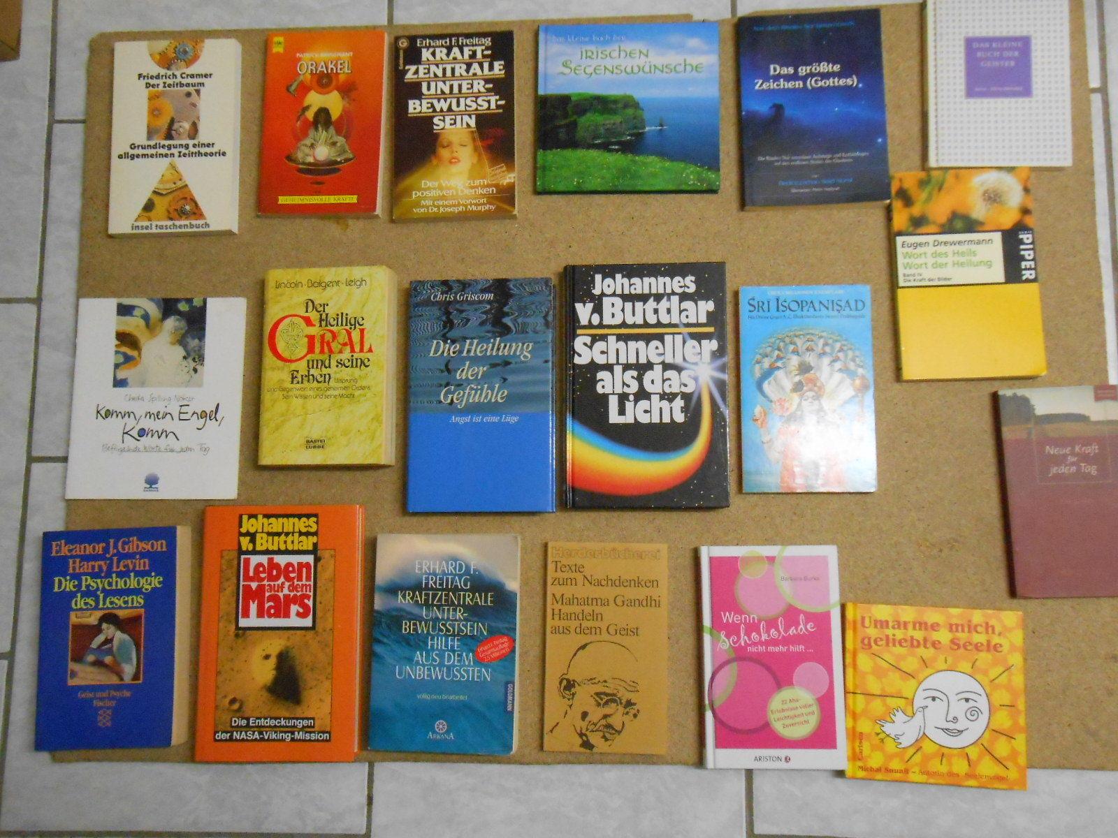 19 X Esoterik Bücher Sammlung Engel, Horoskope Magie Aura Lichtwesen Heiler