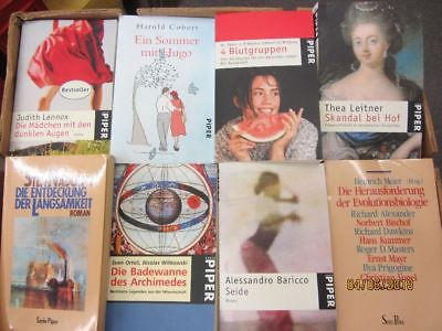 91 Bücher Taschenbücher Piper Verlag