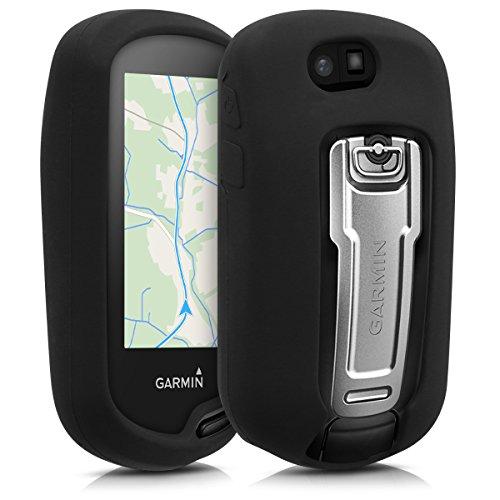 kwmobile Hülle für Garmin Oregon 700/750t - GPS Handgerät Navi Silikon Schutzhülle - Outdoor Navigationsgerät Case Cover Schwarz