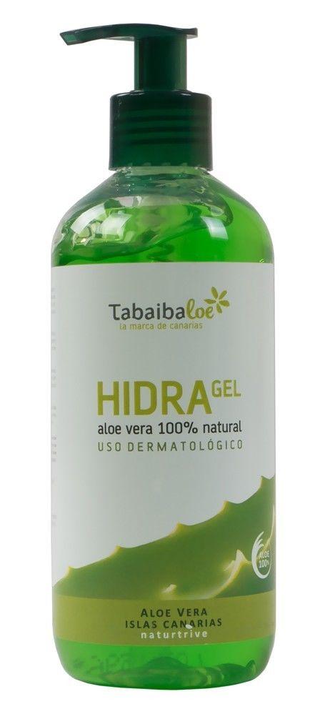 Tabaiba 300 ml Aloe Vera Feuchtigkeitsgel Hydrogel Feuchtigkeit After-Sun Creme