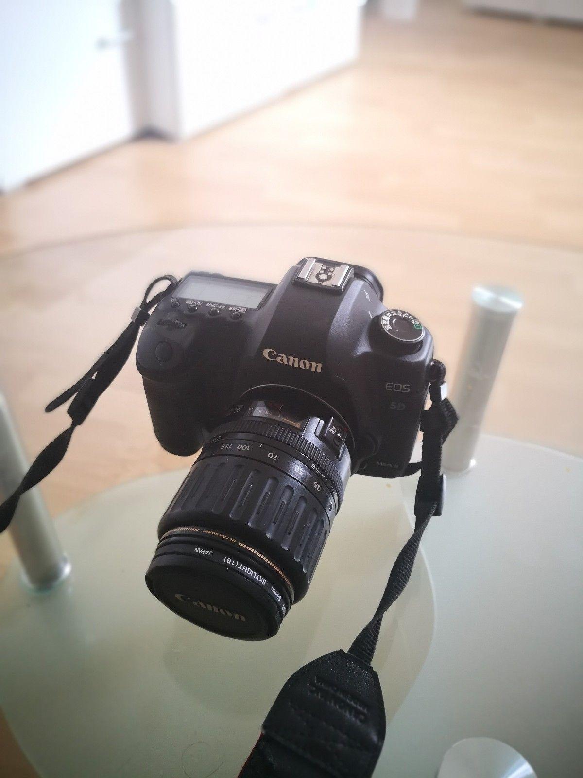 Canon EOS 5D Mark II 21.1MP Digitalkamera - Schwarz (Kit mit EF L USM 24-70mm...