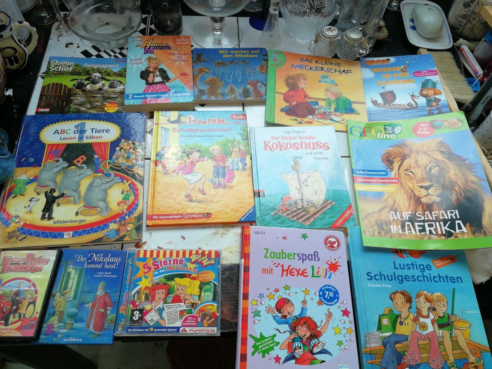 Konvolut Bilderbücher Kinderbücher 35  Stück Paket Sammlung