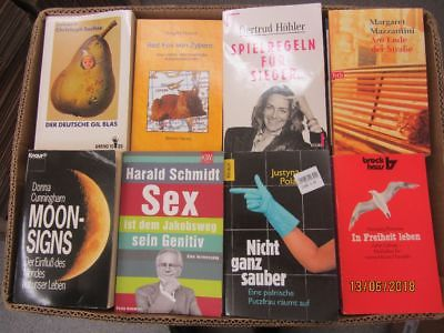 134 Bücher Taschenbücher verschiedene Verlage
