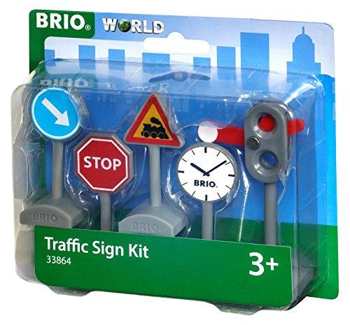 Brio GmbH BRIO World 33864 - Verkehrszeichen-Set