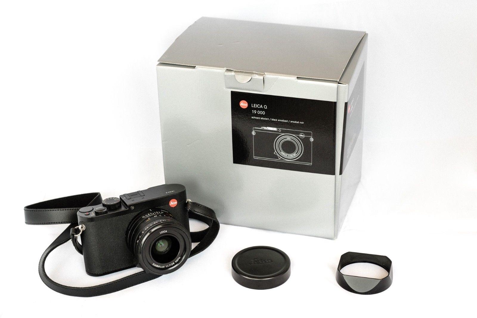 Leica Q Typ 116 24.2MP Digitalkamera - Schwarz - Top Zustand - OVP