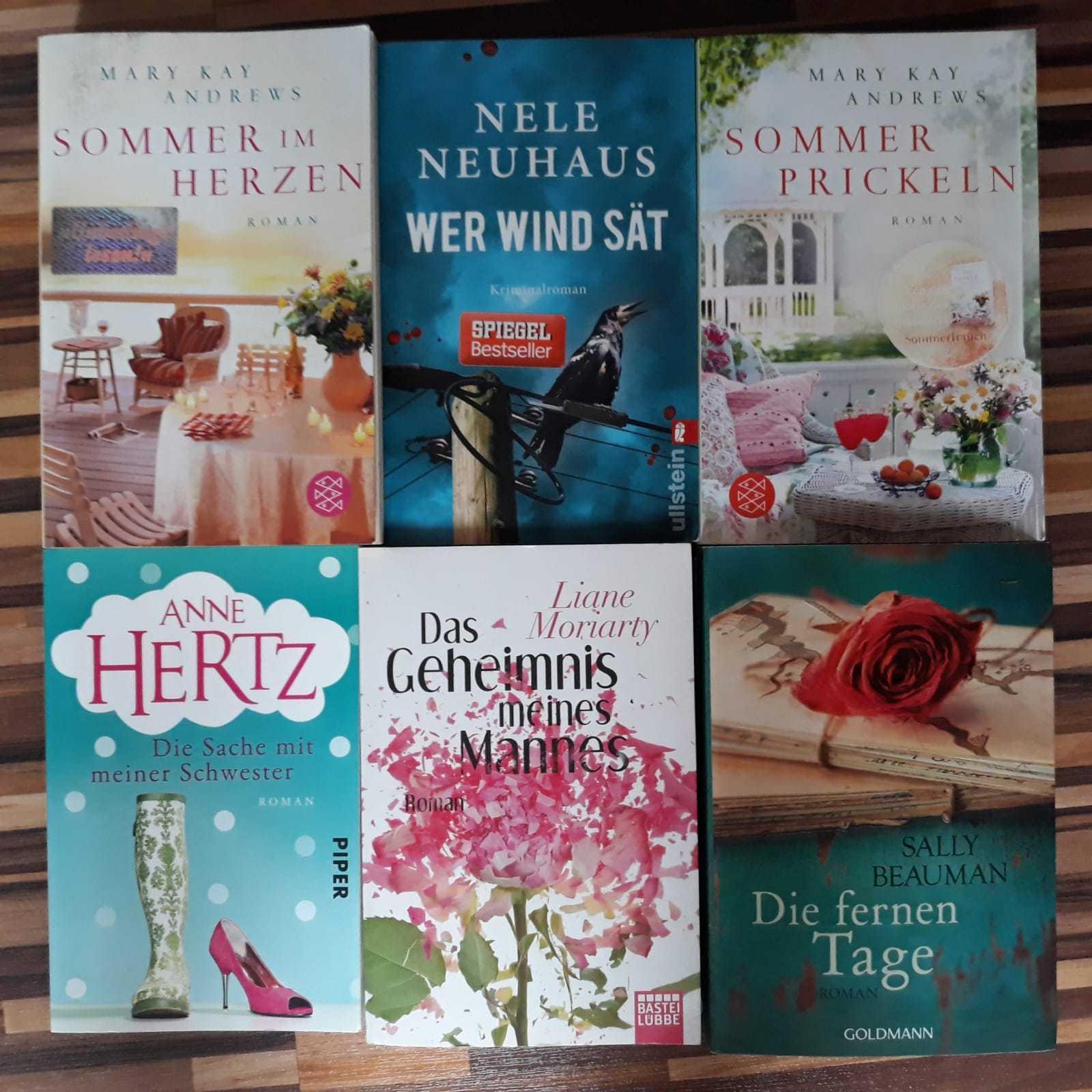 Bücher Paket , Sammlung Frauenromane