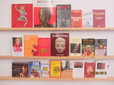 28 Bücher Buddha Buddhismus Dalasi Lama asiatiasche Religion
