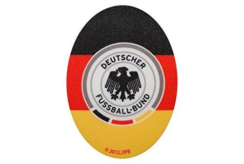 alles-meine.de GmbH Deutscher Fussball-Bund 8 cm * 11 cm Bügelbild Aufnäher Applikation DFB Fussball Adler bunt Flicken