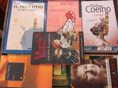 48 Bücher spanische  Bücher Romane Sachbücher Kinderbücher u.a.