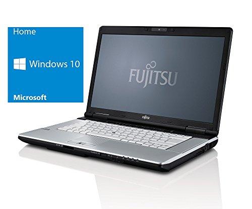 Fujitsu Lifebook E751 Notebook | 15 Zoll Display | Intel Core i5-2520M @ 2,5 GHz | 4GB DDR3 RAM | 500GB HDD | DVD-Brenner | Windows 10 Home vorinstalliert (Zertifiziert und Generalüberholt)