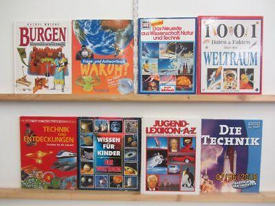 33 Bücher Kindersachbücher Jugendsachbücher Natur Technik Experimente