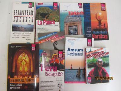 55 Bücher Reiseführer Reise Know How  nationale und internationale Reiseführer