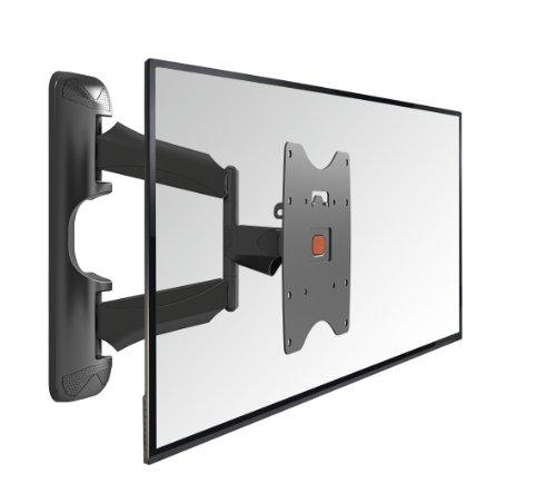 Vogel's BASE 45 S TV-Wandhalterung für 48-104 cm (19-40 Zoll) Fernseher, 180° schwenkbar und neigbar, max. 20 kg, Vesa max. 200 x 200, schwarz
