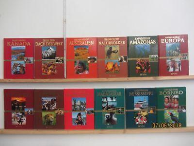 12 Bücher Bildbände Faszination der weiten Welt Weltkulturgeschichte
