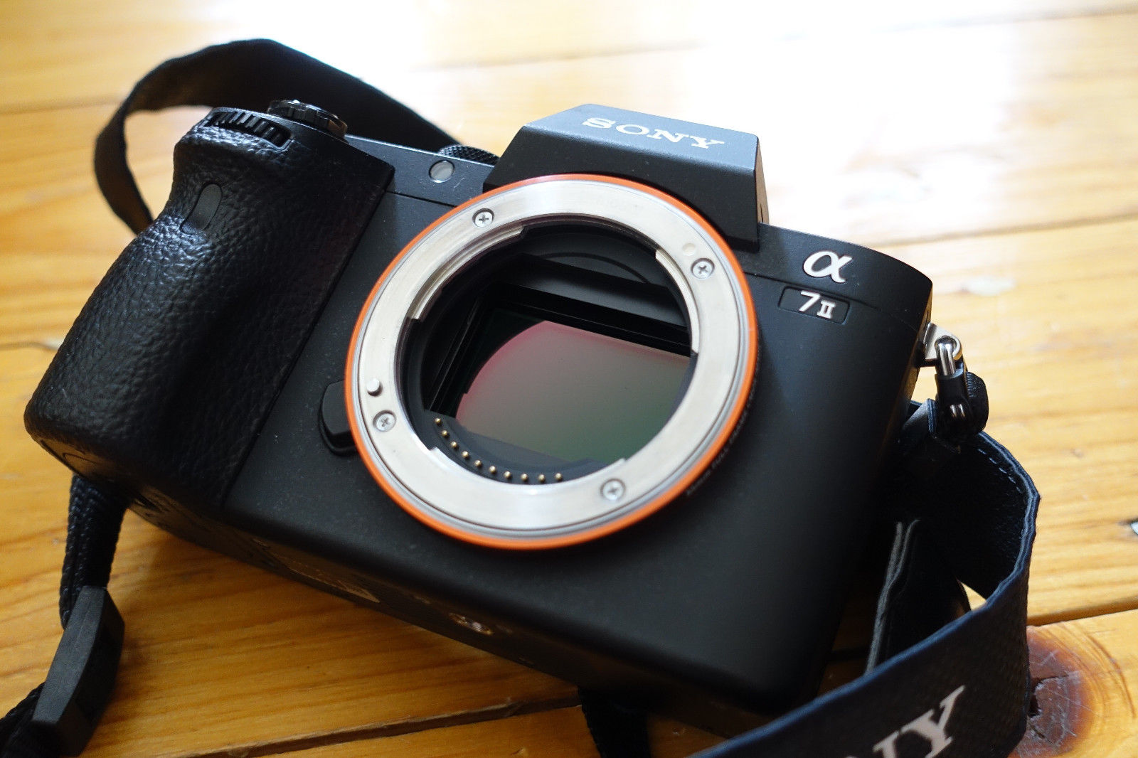 Sony Alpha A7M2 ILCE-7M2 24,3 MP Digitalkamera - Schwarz, body,A7II,Vollformat,