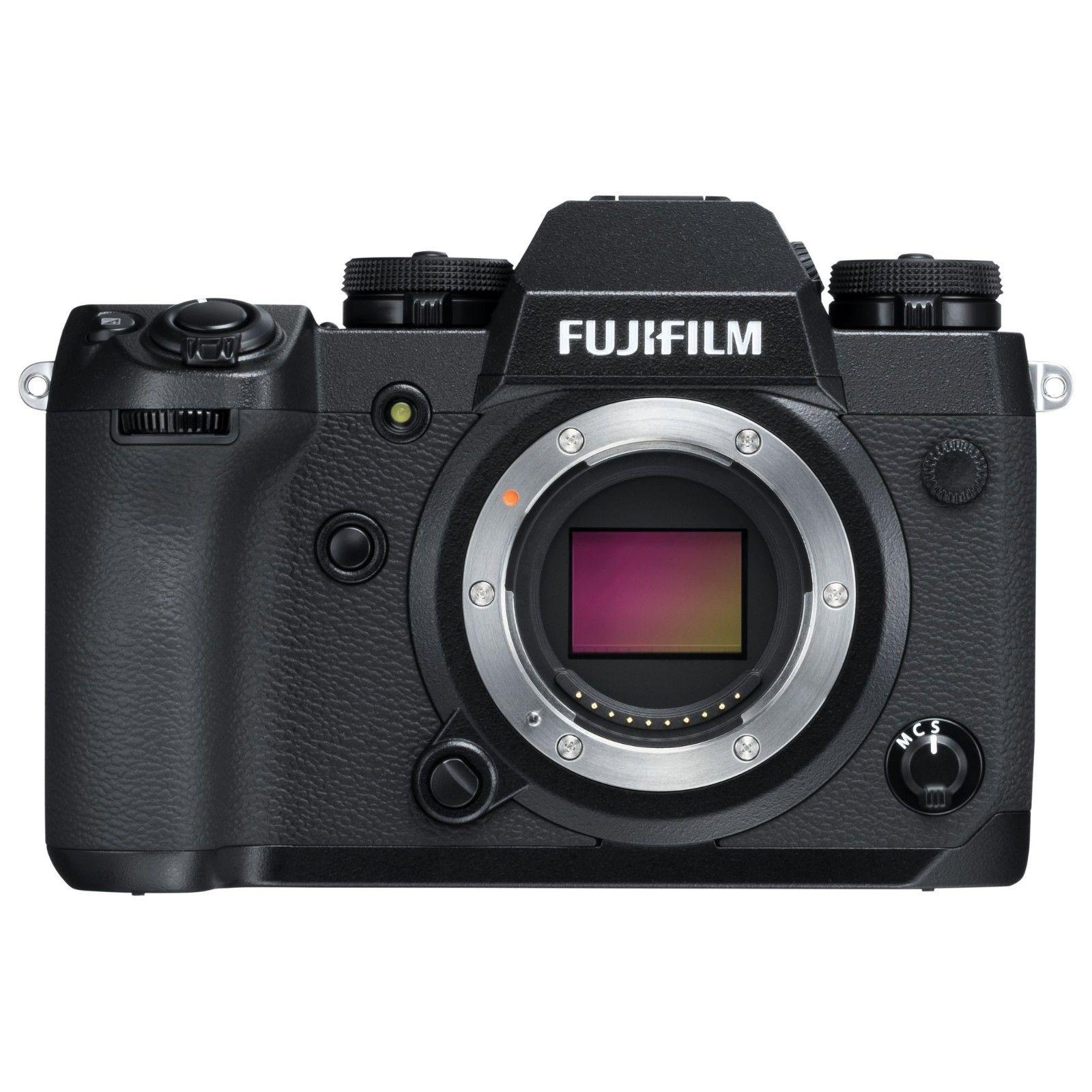 Fujifilm Fuji X-H1 15 Auslösungen NEU OVP Rechnung 24 Monate Garantie