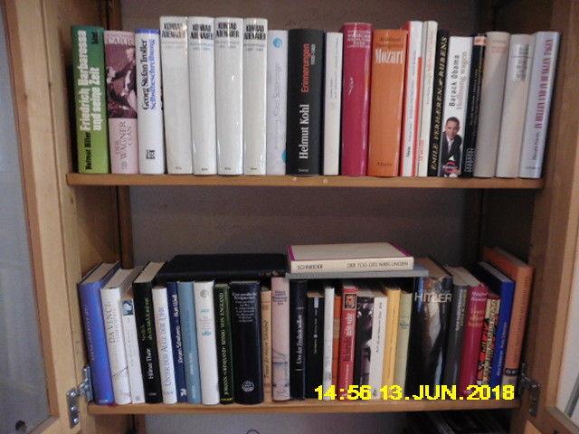 ca. 50 Bde Biographien, Autobiographien , Konvolut 1