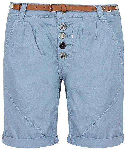 Sublevel Damen Hosen/Shorts Bermuda blau XS