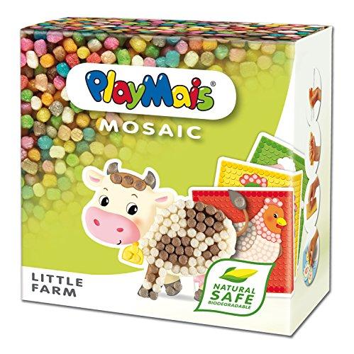 PlayMais 160255 Mosaic Little Farm, Bastelset