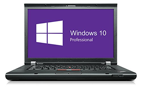 Lenovo Thinkpad T530 Notebook | 15.6 Zoll Display | Intel Core i5-3210M @ 2,5 GHz | 8GB DDR3 RAM | 250GB SSD | DVD-Brenner | Windows 10 Pro vorinstalliert (Zertifiziert und Generalüberholt)
