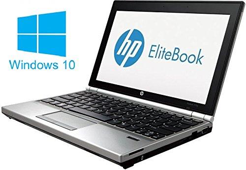 HP Elitebook 2170p Notebook / Laptop | 11.6 Zoll Display | Intel Core i7-3667U @ 2,0 GHz | 4GB DDR3 RAM | 180GB SSD | Windows 10 Pro vorinstalliert (Zertifiziert und Generalüberholt)