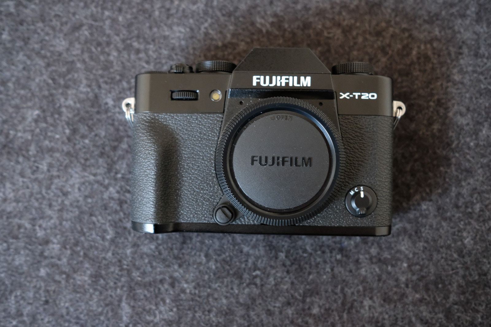 Fujifilm X-T20 24.3MP Digitalkamera - Schwarz