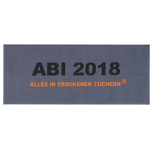 Egeria Strandtuch ABI 2018 grau, 75x180 cm