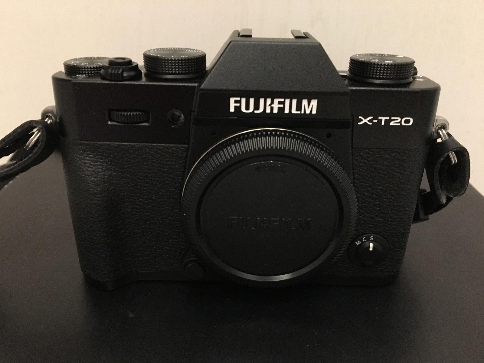 Fuji X-T20 Body schwarz -wie neu- unter 500 Auslösungen - inkl. Rechnung