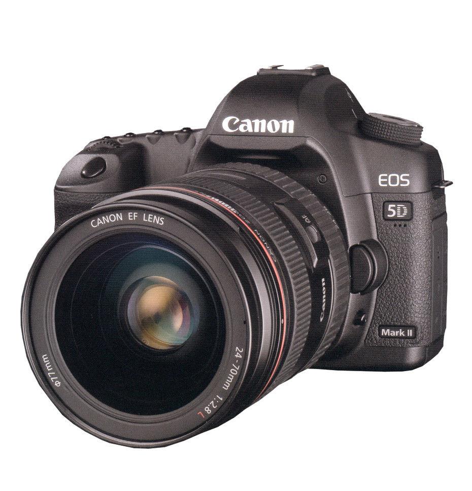 Canon EOS 5D Mark II Kit mit EF L USM 24-70mm Objektiv